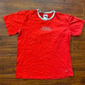 Vintage Youth Nike Red Shirt Fits like Men's Small
